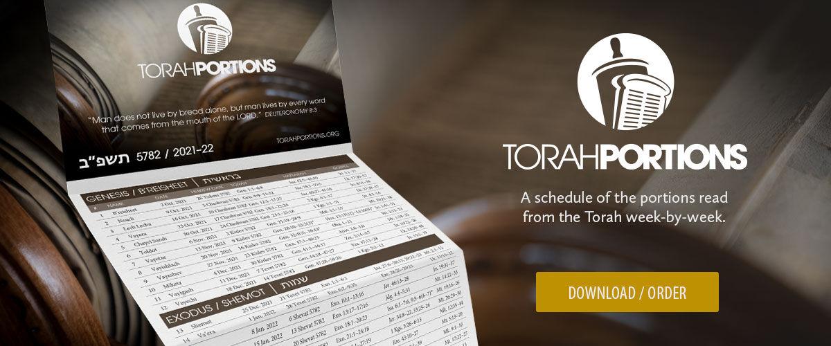 Torah Portions Schedule